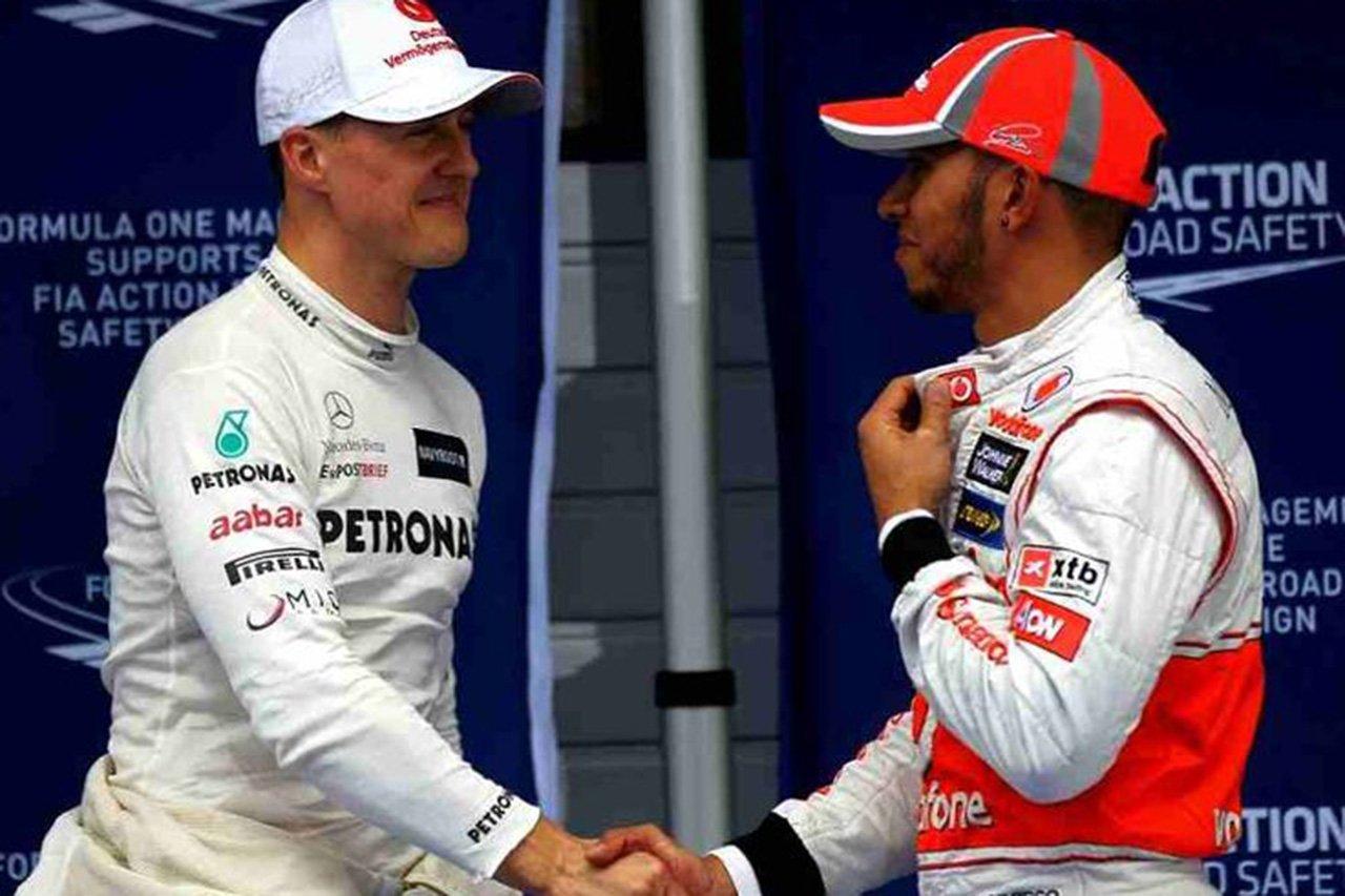「才能だけで比較すればハミルトンの方がシューマッハより上」と元F1王者ロズベルグ