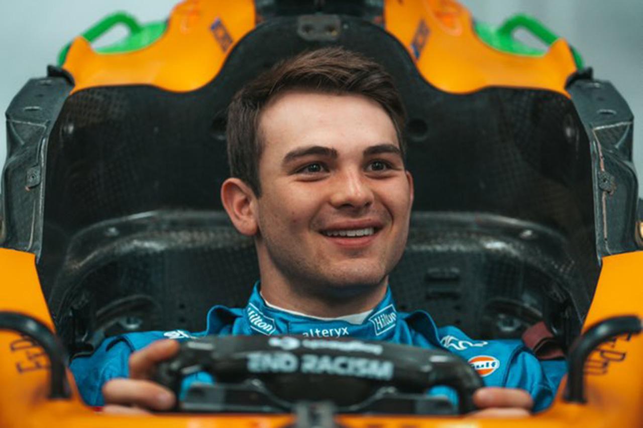 パトリシオ・オワード 「F1ドライバーを夢見ていないといったら嘘になる」