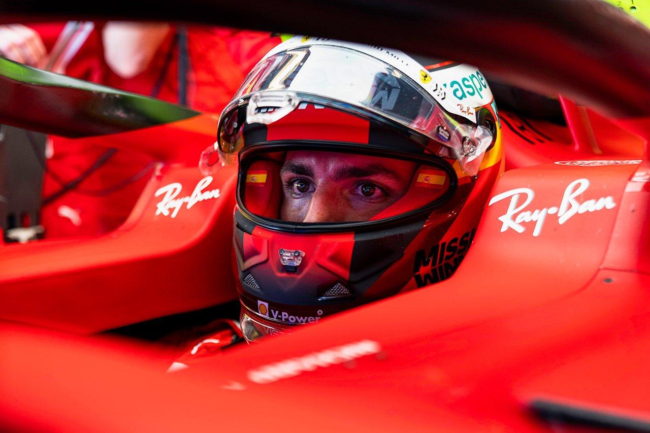 カルロス・サインツ 「トラフィックがなければ良いラップができていた」 フェラーリ F1アメリカGP 金曜フリー走行