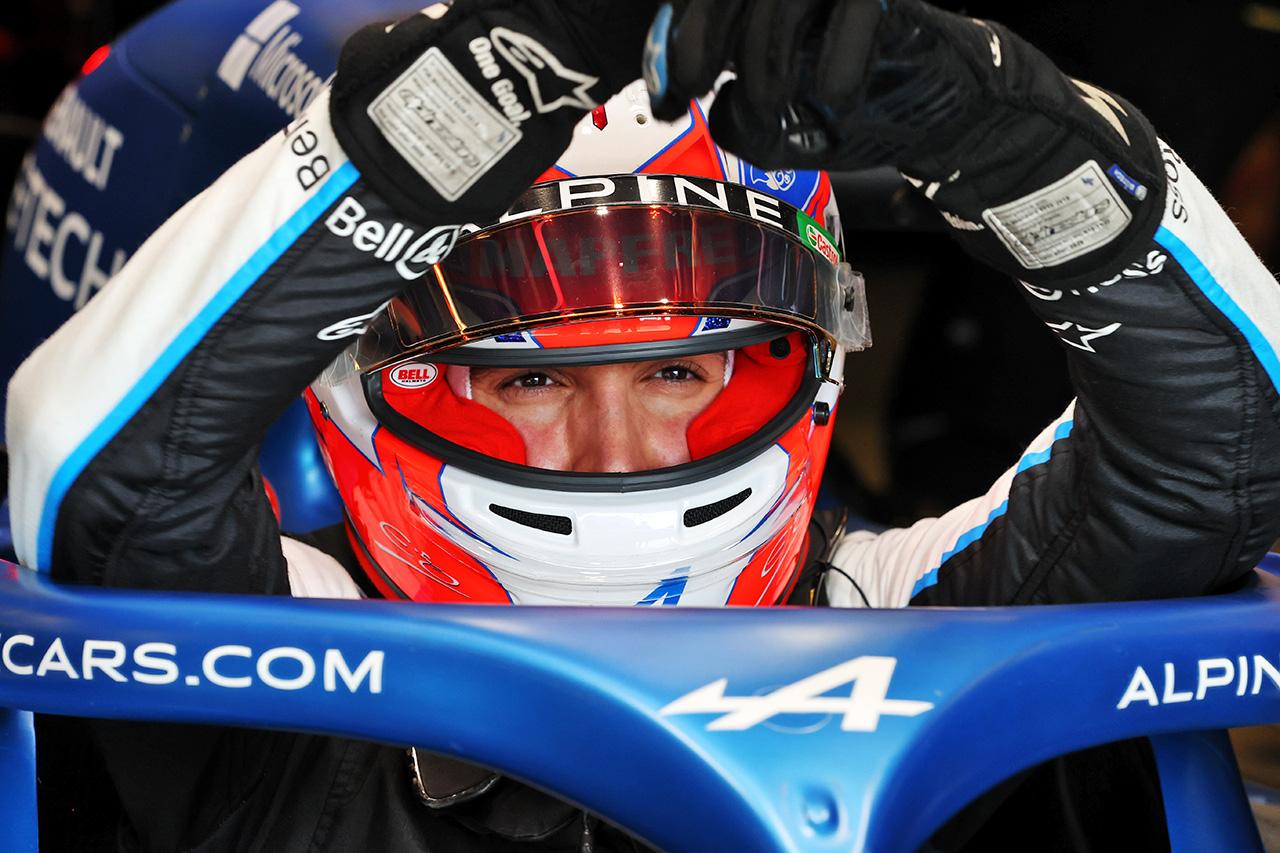 エステバン・オコン 「全体的に異なるトラックを発見する感じだった」 アルピーヌ F1アメリカGP 金曜フリー走行