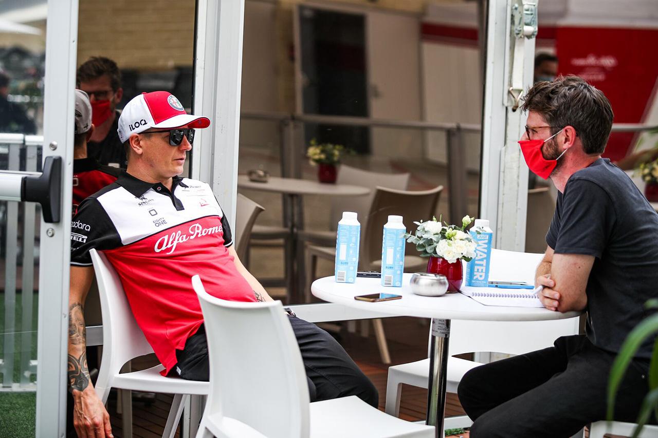 キミ・ライコネン 「大きな問題もなく自分たちの仕事を進められた」 アルファロメオ F1アメリカGP 金曜フリー走行