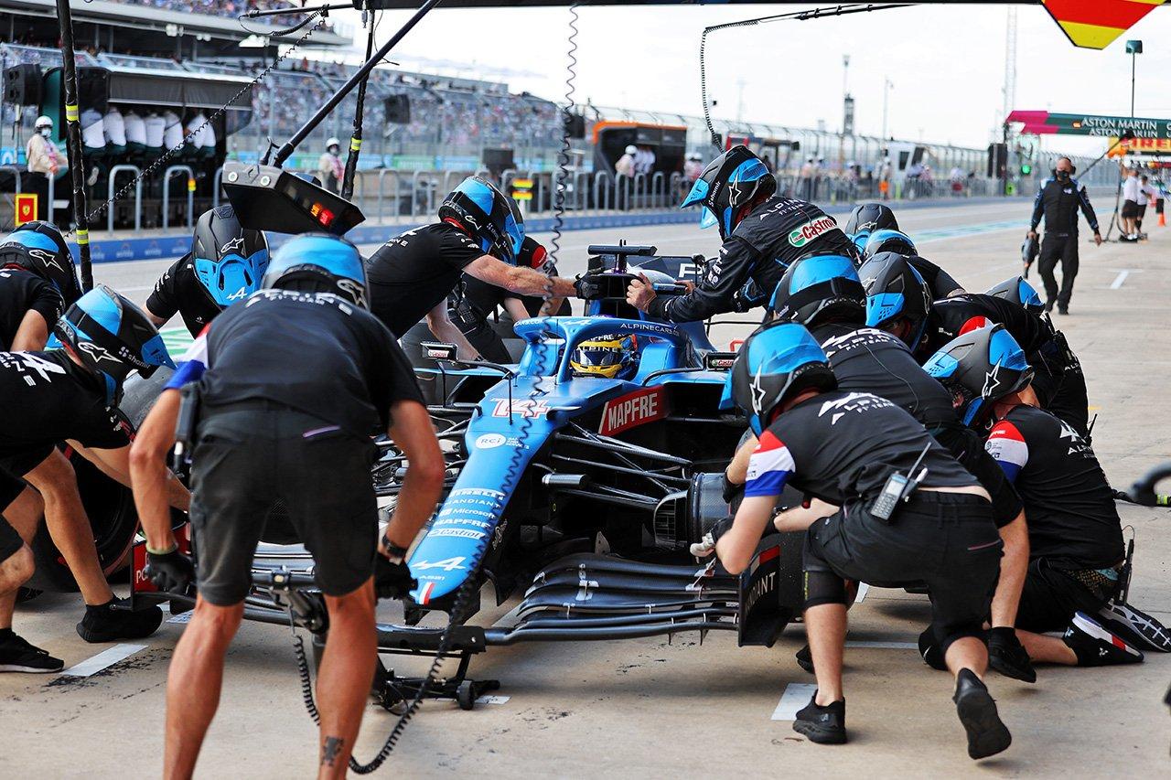 フェルナンド・アロンソ、PU一式交換で降格ペナルティ / F1アメリカGP