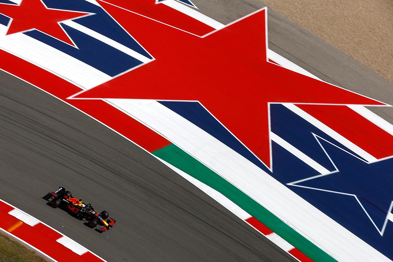 【速報】 F1アメリカGP 予選 結果:フェルスタッペンがポール獲得