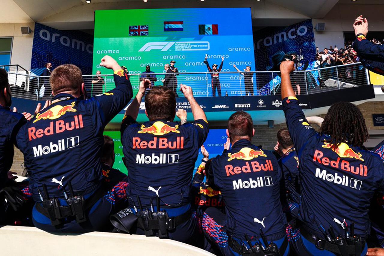 2021年 F1ポイントランキング (第17戦 F1アメリカGP 終了時点)