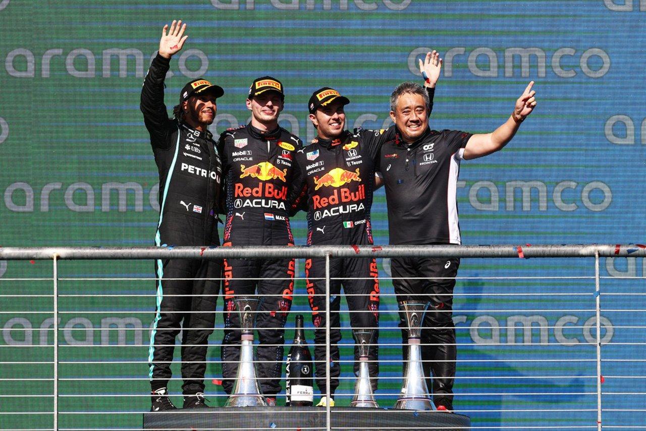 F1アメリカGP 決勝:フェルスタッペン優勝でレッドブルがダブル表彰台!角田裕毅9位で6戦ぶりの入賞